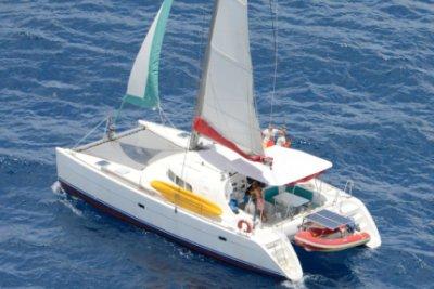 croisière en catamaran aux Grenadines sur le Lagoon 410