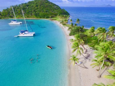 location de catamarans aux Grenadines Mayreau