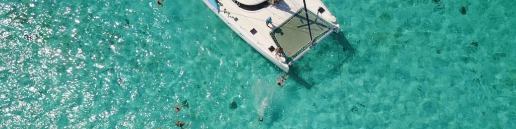 croisière et location de catamaran avec skipper Grenadines Martinique Antilles