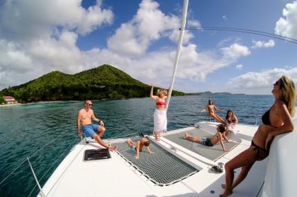 sortie journée catamaran Martinique