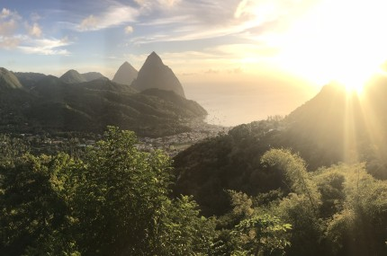 croisières en catamaran aux Antilles week-end à Sainte-Lucie