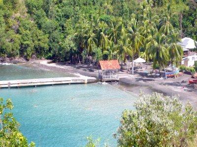 Croisière autour de la Martinique anse noire