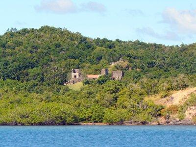 Croisière autour de la Martinique baie du Trésor