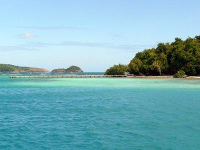 Croisière autour de la Martinique ilet Madame
