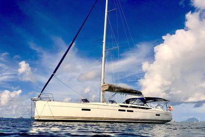 Sun Odyssey 469 pour votre location de bateau en Martinique