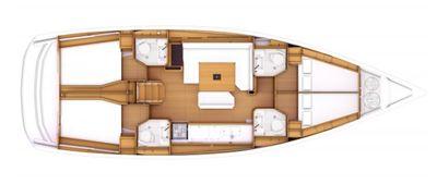 Sun Odyssey 469 plan