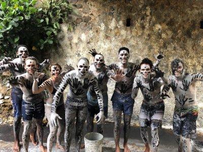 Sainte-lucie les bains de boue